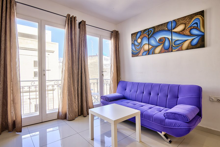 Off the Strand Sliema 2-bedroom Central Apartment