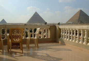 Apartment in Egypt, Giza: View from our Balcony