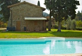 holiday villa in chianti with private swimming pool