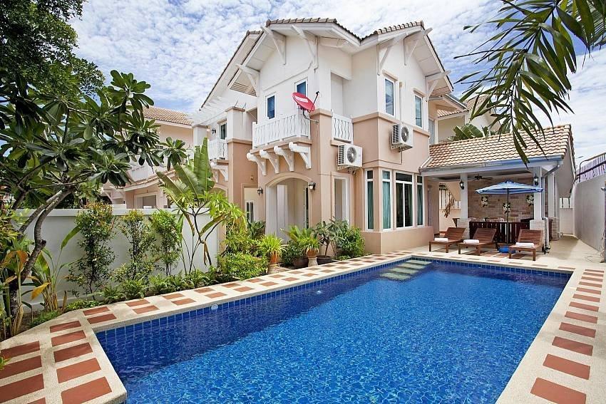 Owners abroad Jomtien Summertime Villa A | 4 Bed Pool House in Jomtien South Pa