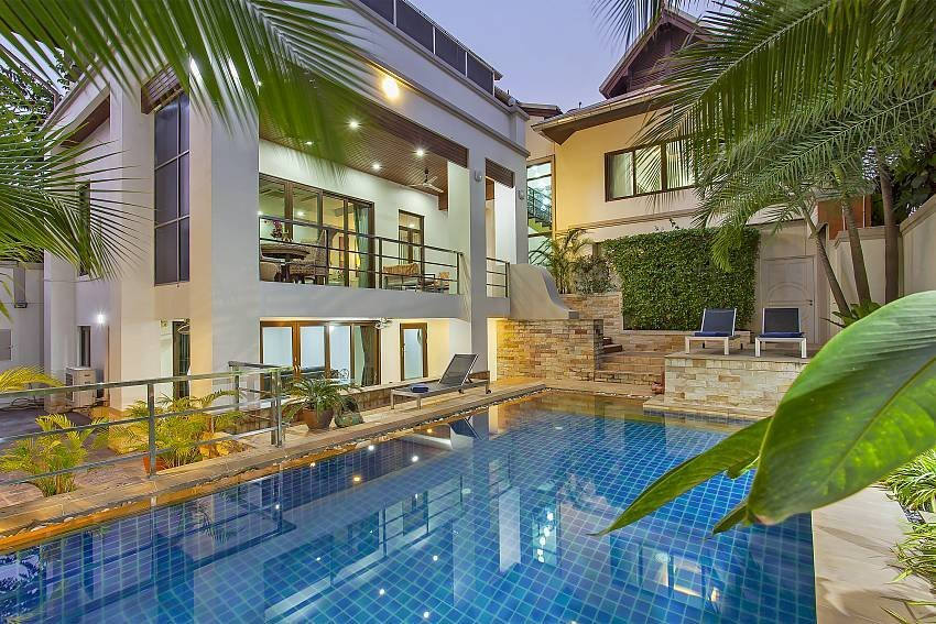 Owners abroad Angels Villa | 5 Bed Pool Villa at Pratumnak Hill in Pattaya