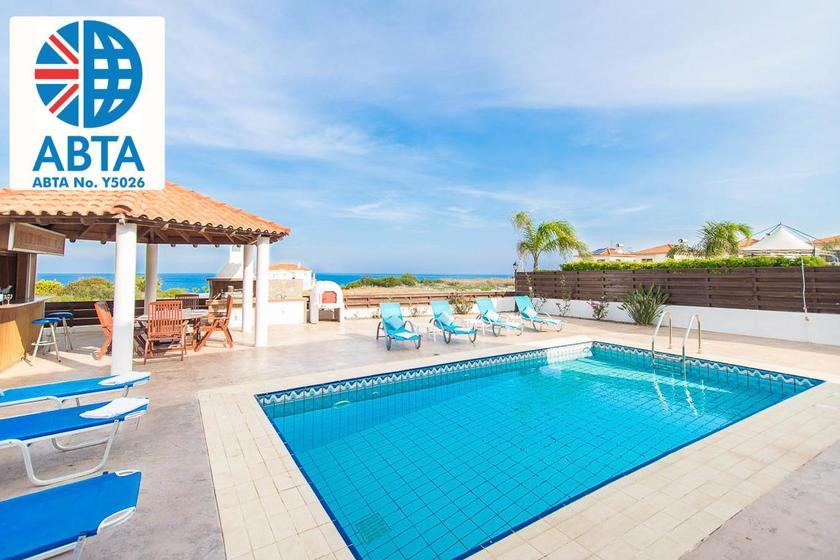 Villa To Rent In Protaras Cyprus With Private Pool 182457