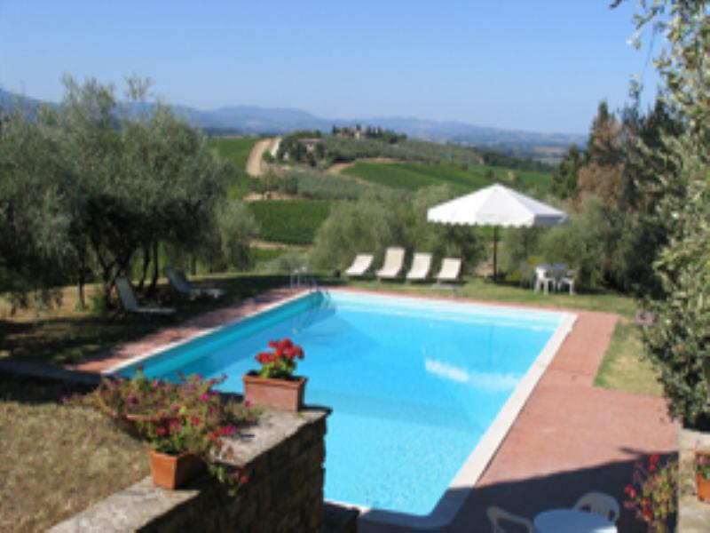 Villa in Italy, Castellina inchianti
