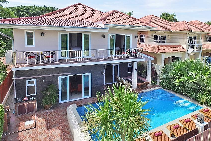 Owners abroad Baan Calypso | 7 Bed Tropical Pool Villa in Jomtien South Pattaya