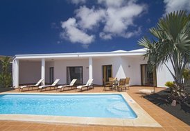 Two bedroom villa with private pool, Playa Blanca