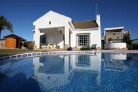 Villa in Spain, Caños de Meca: Recreation outdoors all year round with Sauna, Hot/Cold Tub & Pool