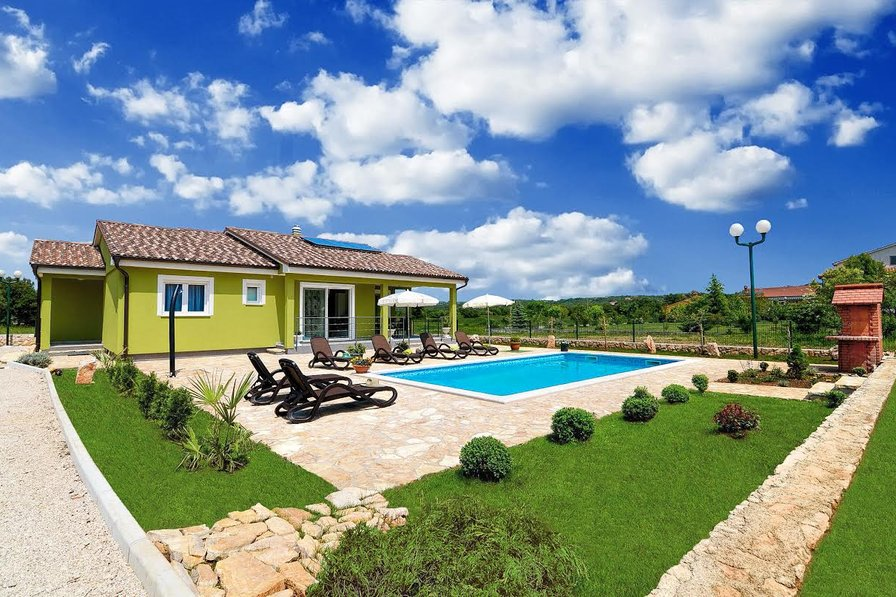Villa Verde with heated pool in Istria