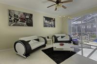 Villa in USA, Highlands Reserve Golf course: Family Games Area with access to the Pool and Deck