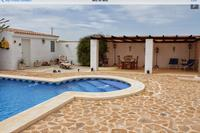 Apartment in Spain, Pinoso: Pool & gardens , sun loungers  for in / out of sun .