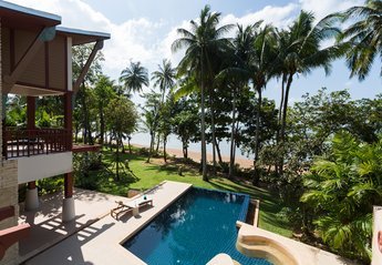 Villa in Thailand, Ao Nam Mao: View from Master Bedroom, Swimming pool and beach