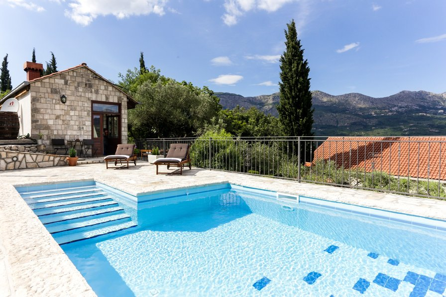 Villa in Croatia, Gruda