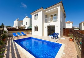 DAFVIL12 3 Bed villa, Private pool,Near Beach, Pernera, Protaras
