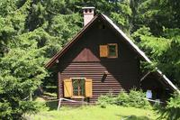 Cabin in Slovenia, Bled: Log cabin in the forest of Pokljuka near Bled