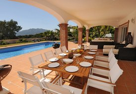 Stunning 5/6 bed villa Costa del sol with heated pool/Wi-fi