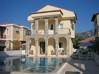 House in Turkey, Dalyan