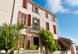Chezhoudret, family home in Argeliers, Aude, Languedoc.