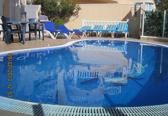 Villa in Spain, Valle del Portet: Infinity Pool with Roman Steps, with 6 sunbeds available plus BBQ.