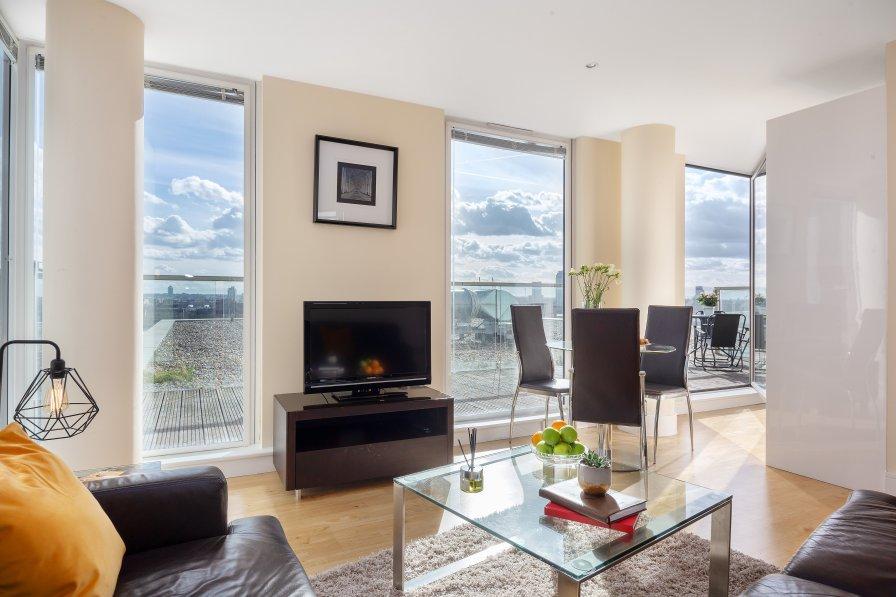 Apartment in United Kingdom, Canary Wharf