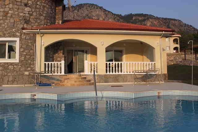 3 bedroom, Lakeside paradise bungalow, Akkaya, Mugla, Turkey