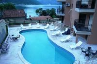 Apartment in Montenegro, Dobrota: Shared pool