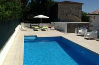 Villa in Croatia, Groznjan: Pool & Upper Terrace Area
