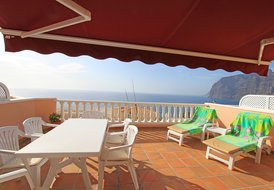 LUXURY EXCLUSIVE RETREAT WITH  SUNNY SEA & CLIFF VIEW TERRACE