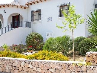 Villa in Spain, Ondara: Villa Front View