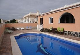Villa Fortuna, south facing with private secure garden and pool