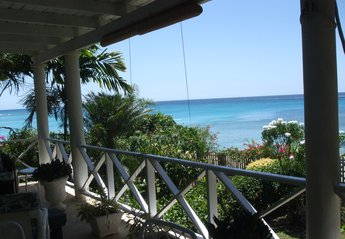 Villa in Barbados, Speightstown: View from Bedroom 1 verandah