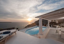 Captains' House in Santorini
