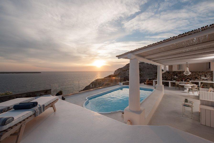 Villa in Greece, Oia: Ode Villa in Oia of Santorini
