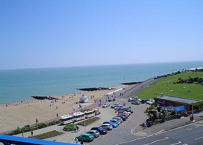 Apartment in United Kingdom, Eastbourne: View from the balcony