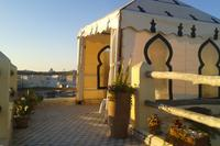 Villa in Morocco, Essaouira: Upper terrace overlooking the ancient medina of Essaouira