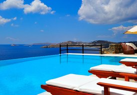 Mykonos waterfront beach Villa