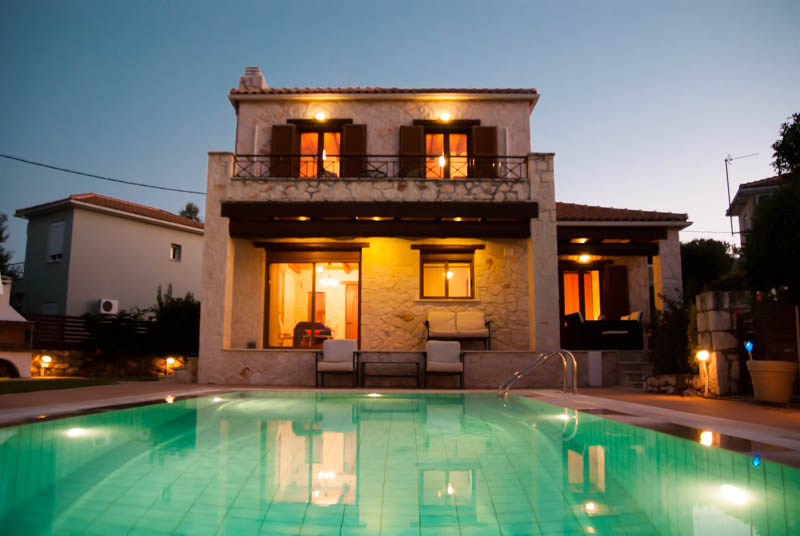 Villa in Greece, Tragaki