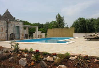 Country House in Italy, Alberobello: Beautiful pool area