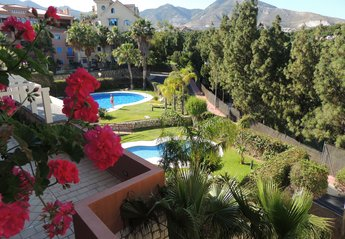 Apartment in Spain, Torrequebrada: Beautiful Casa Vela gardens, pools and views