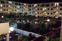 Apartment in Spain, Los Cristianos: view from the terrace at night