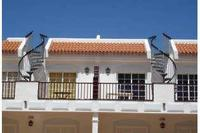 Apartment in Spain, Los Cristianos: The large balcony leads to the huge roof terrace