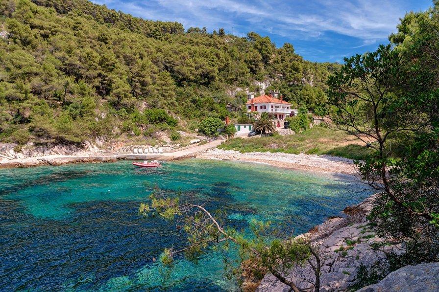 Villa in Croatia, Island of Hvar