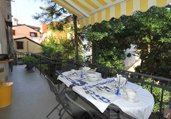 Apartment in Slovenia, Piran: Terrace