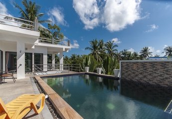 Villa in Thailand, Chaweng: Pool view
