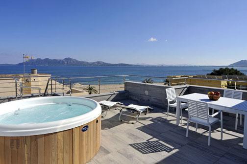 Penthouse apartment in Spain, Puerto Pollensa