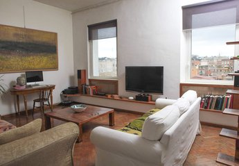 Apartment in Italy, Rome: The living room