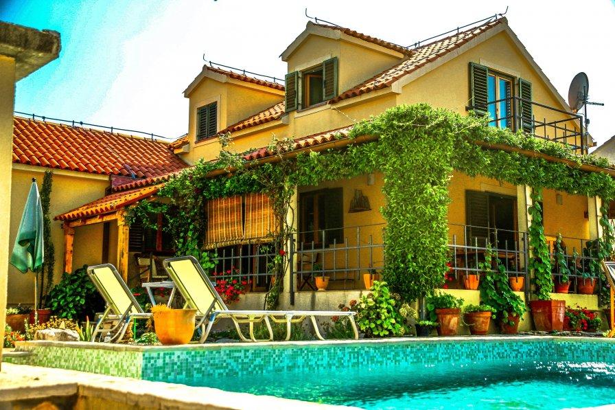 Villa in Croatia, Škrip
