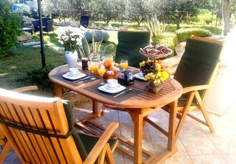 Villa in Croatia, Trogir: Have a breakfast every morning in our lovely garden!!!