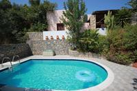 Villa in Greece, Agia Triada: Rear of Villa Francesca and Pool.