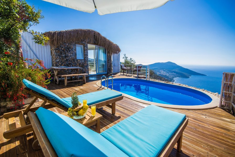 Honeymoon villa in Kiziltas kalkan, sleeps 2-143-2