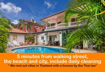 6 bedroom Villa for rent in Pattaya