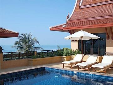 Siam Sunset Luxury Family Villa 4 or 5 Bedrooms- Excellent views.